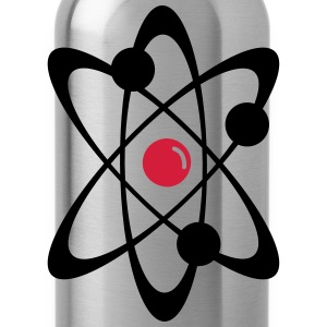 Atomic nuclear radioactive nuclear science 2c T-Shirts - Water Bottle