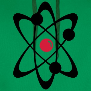 Atomic nuclear radioactive nuclear science 2c T-Shirts - Men's Premium Hoodie