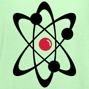 Atomic nuclear radioactive nuclear science 2c T-Shirts - Women's Tank Top by Bella