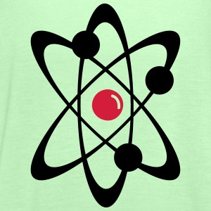 Atomic nuclear radioactive nuclear science 2c  Aprons - Women's Tank Top by Bella