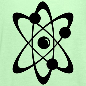 Atomic nuclear radioactive nuclear science 1c Hoodies & Sweatshirts - Women's Tank Top by Bella