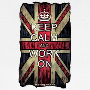 Keep Calm and Work On - Comicstyle T-Shirts - Baseballkappe