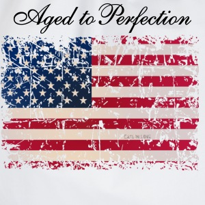 Aged to Perfection / USA Flag - Turnbeutel