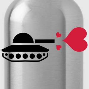 Tank Love Heart T-Shirts - Water Bottle