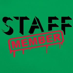 Staff Member T-shirts - Retro-tas