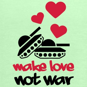 Make Love Not War Tanks T-Shirts - Frauen Tank Top von Bella