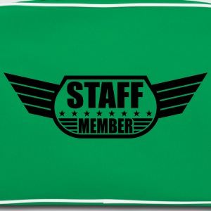 Staff Member Design T-Shirts - Retro Bag