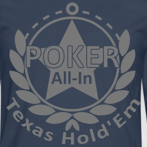 poker allin texas holdem Tee shirts - T-shirt manches longues Premium Homme