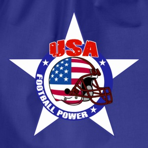 us football power Tee shirts - Sac de sport léger