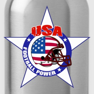 us football power Tee shirts - Gourde