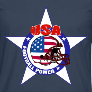 us football power Tee shirts - T-shirt manches longues Premium Homme