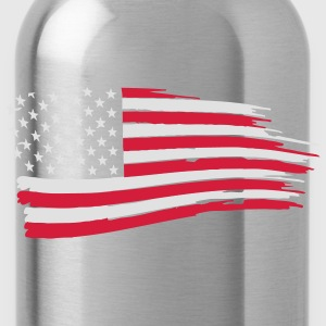 usa_flag_on_blue T-Shirts - Water Bottle