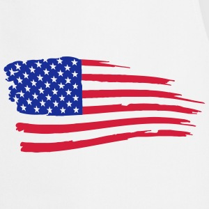 usa_flag_on_white T-Shirts - Cooking Apron