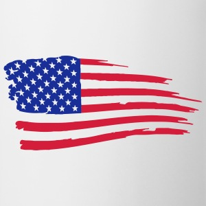 usa_flag_on_white T-Shirts - Mug