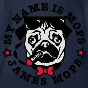 My Name is Mops - James Mops / (04) Bond Agent 007 - Baby Bio-Kurzarm-Body