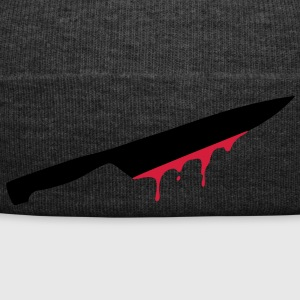 knives, swords, blood, injury, cut, splatter, cook - Winter Hat