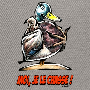 CANARD COLVERT Moi Je Le Chasse ! Tee shirts - Casquette snapback