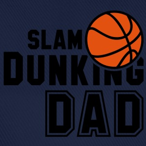 SLAM DUNKING DAD 2C Basketball T-Shirt NO - Cappello con visiera