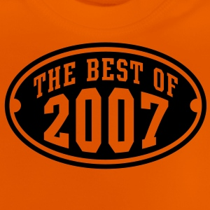 THE BEST OF 2007 - Birthday Anniversaire Enfants Tee Shirt BY - T-shirt Bébé