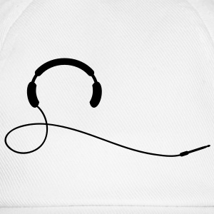 headphone T-shirt - Cappello con visiera