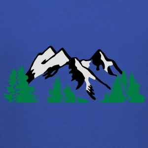 Mountain Alps Landscape T-Shirts - Kids' Premium Hoodie