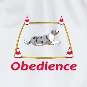 Obedience Box Australien Shepherd T-shirts - Gymnastikpåse