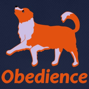 Obedience 3  T-shirts - Basebollkeps