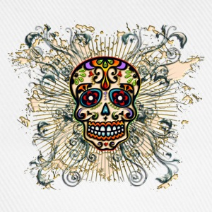 Mexican Sugar Skull - Day of the Dead T-shirts - Baseballcap