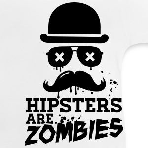 All hipsters are zombies zombie hipster undead  Shirts - Baby T-Shirt