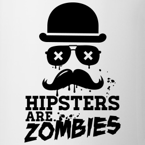 Lustige hipsters zombies zombie hipster undead  Pullover & Hoodies - Tasse