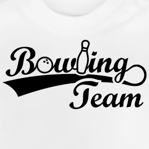 Bowling Team Pin Ball Sport Sportler Bowl Bowlen T-Shirts - Baby T-Shirt