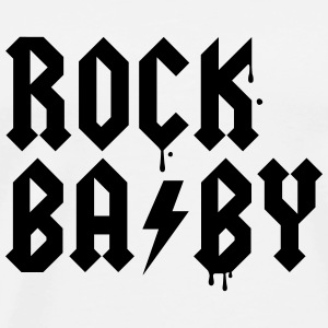 Rock that swag newborn baby graffiti birth style Shirts - Men's Premium T-Shirt