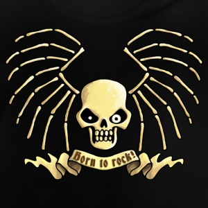 lets_rock_skull_072013_a T-Shirts - Baby T-Shirt