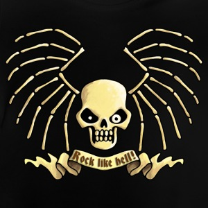 lets_rock_skull_072013_c T-Shirts - Baby T-Shirt