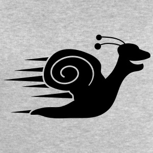 Fast Snail T-Shirts - Men's Sweatshirt by Stanley & Stella