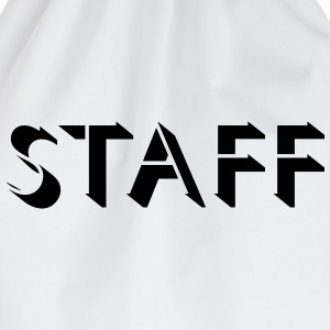 Staff Design T-Shirts - Drawstring Bag