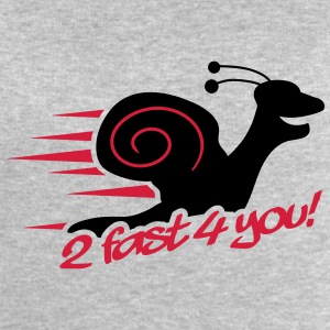 2 Fast 4 You Snail T-Shirts - Men's Sweatshirt by Stanley & Stella
