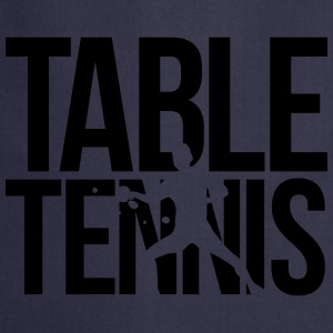 table tennis  T-Shirts - Cooking Apron
