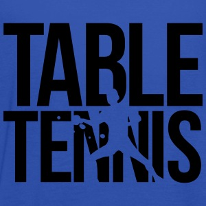 table tennis  T-Shirts - Women's Tank Top by Bella