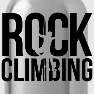 rock climbing T-Shirts - Water Bottle