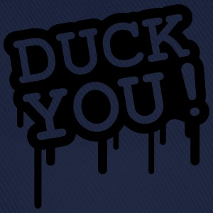 Duck You Graffiti T-Shirts - Baseballkappe