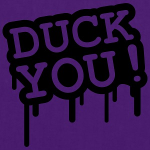 Duck You Graffiti T-shirts - Tas van stof