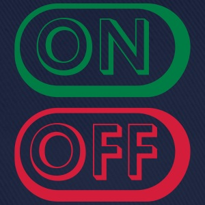 On Off Buttons T-shirts - Basebollkeps