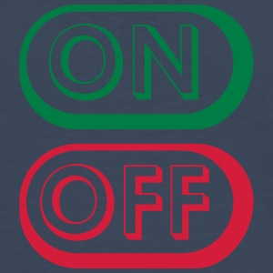 On Off Buttons Tee shirts - T-shirt manches longues Premium Homme