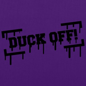 Duck Off Graffiti T-shirts - Tas van stof