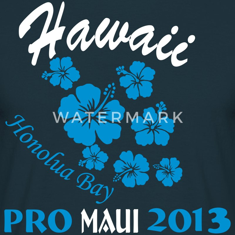 Hawaii Surf Contest Honolua Bay 2013 T-Shirts - Männer T-Shirt