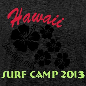 Hawaii Surf Camp Honolua Bay 2013 Pullover & Hoodies - Männer Premium T-Shirt