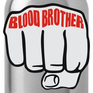 Schwarz Blood Brother © T-Shirts - Drikkeflaske