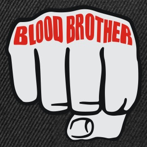 Schwarz Blood Brother © T-Shirts - Snapback Cap