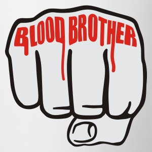 Weiß Blood Brother  © T-Shirts - Kopp